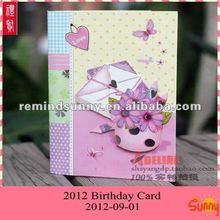 2012 New Arrive Birthday Card