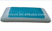 hydrogel cooling pillows/cool gel latex pillow/gel neck pillow