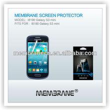 New Arrival! High Quality clear & anti glare/matte screen protector I8190 Galaxy S3 mini