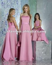 BD-010 2012 Populer Pink Fashion Bridesmaid Dress 2012