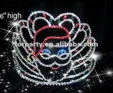 CG-HG1001 Christmas pageant crown santa crown