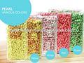 pérolas de tapioca colorida