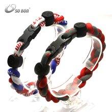 2012 fashion silicone bracelet power sports ion band