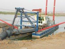 sand dredging ship
