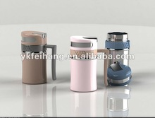 new style Double wall stainless steel office mug 400ml flask