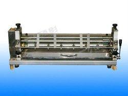 white latex gluing machine