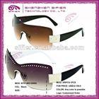 2012 Rimless Fancy Design Brand Women Sunglasses