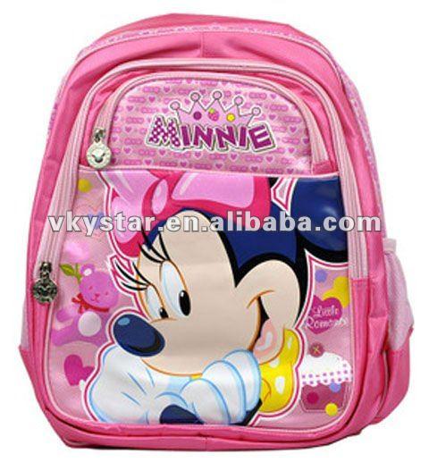 mickey mouse escolares para niños bolsas con imágenes de dibujos animados