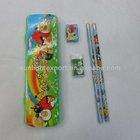 kids stationery set with pencil case,mini stationery set