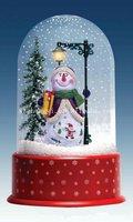 New arrival Chrismas snow globe cheap snow man inside globe
