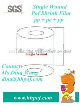 Tube Flexible POF Plastic Wrapping Film