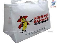 cute cartoon non woven promotion shopping bag