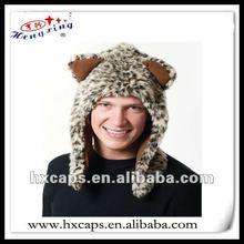Fluffy animal hat/animal ears long fur hat