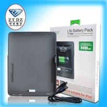 IPEGA Brand 8000MAH external battery case for Ipad,Pass CE certificate