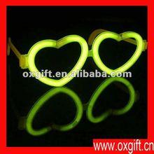 OXGIFT glow heart glasses