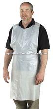 plastic cooking apron