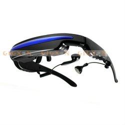 "52"" Virtual Display Portable Mobile Theatre MP4 Glasses Audio Video Player"