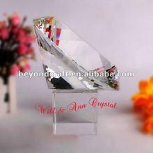 Elegant bling crystal diamond home decoration