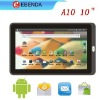 """2012 best-selling tablet 10"""" capacitive a10 android 4.0 camera"""