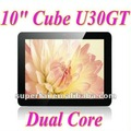 "10"" Cube U30GT Dual core tablet pc RK3066 1.6GHz Android 4.0 Bluetooth 1GB 32GB Dual Camera"