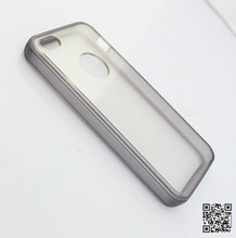 2012 Hot sale Ultrathin Transparent TPU Silicon case for iPhone5