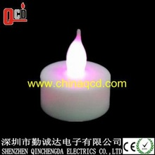 Red LED tealight, flameless LED candle