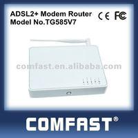 thomson v7 4ports adsl wireless router ADSL2+ modem router comfast TG585V7 dsl wireless rotuer modem rotuer adsl wifi b g