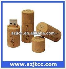 Wine Cork USB,Wooden Bottle Cork USB Drive,Cork USB Stick