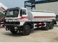 benz norte 6x4 caminhão tanque de água 15000l