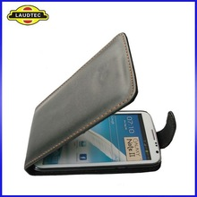 OEM Welcome,Leather Flip Case for Samsung Galaxy Note 2 II N7100 mobile phone case cover----Shenzhen Laudtec