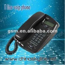 Supply 1 Line Voip Phone(sip&H.323),wifi sip desk phone