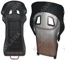 One lot/2pcs Bucket,inclusion feeling,FLANNELETTE cloth+PVC red/black sports racing car seat RAP03