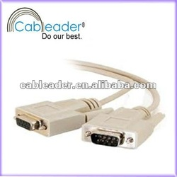DB9 To VGA Cable, RS232 Male to Male VGA Cable