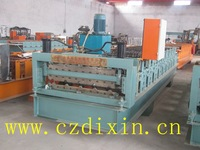 2013 Late Galvanized Steel Trapezoidal Roofing Cold Roll Forming Machine color steel cold roll former