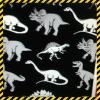 Polyester dinosau printed Minimatt monster high fabric