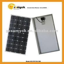 Solar cell panel 130W mono good quality SYK130-18M