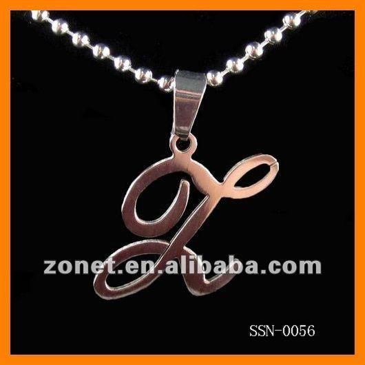 Z Alphabet Images wholesale z initial pendant