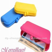 Promotional gifts Silicone coin bag with good sales in 2012