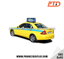 Led taxi/car top roof light box advertising -Patent product