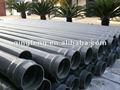 Tubería de pvc/de gran diámetro de tubería de pvc para el abastecimiento de agua de color baratos de gran diámetro de plástico 48 pulgadas de tubería de pvc