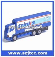 U Disk Truck Shape, Custom Logo Truck Pendrive, USB for promotional gift