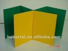 Decorative aluminium interior advanced material in construction