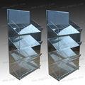 4 camadas elegante 2012 grande armário de acrílico
