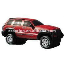 Vivid design inflatable car model for advertising 2012