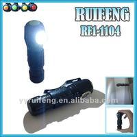 Steel Belt Clip fingertip led flashlight led clip light factory
