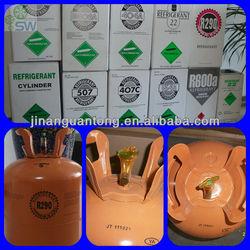High Purity Refrigerant gas R290 gas price used car