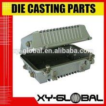 Precision aluminium die casting telecommunication box made in shenzhen