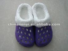 2012 Best Selling Winter Clogs Woman Shoe