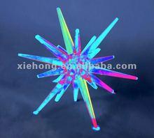 2012 high crystal acrylic twinkling LED christmas lighting
