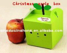 Gift box Christmas apple box